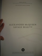 Inspirational words from Alexander McQueen